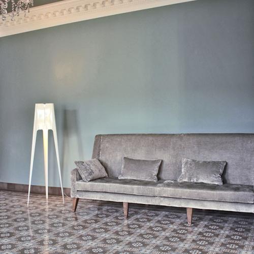 Zementfliesen im Wohnbereich